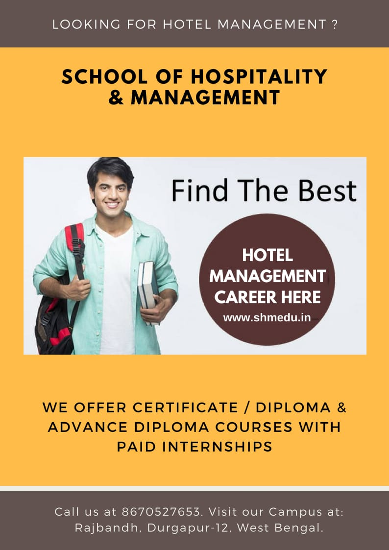 School of Hospitality & Management Durgapur